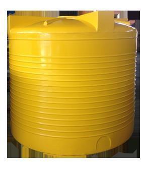 емкость вертикальная VERT 4500T yellow