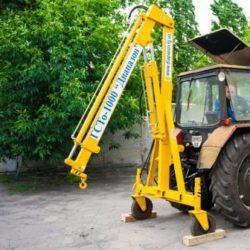 гидравлическая тракторная облегченная, не поворотная, грузоподъемность 1000кг