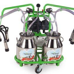 аппарат 2 пульсатора, 2 бидона по 30л плюс бензиновый двигатель