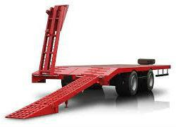 Прицеп для перевозки техники модель 9835-71 до 15-18 тонн