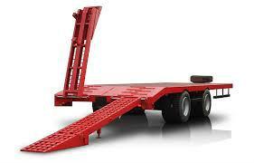 Прицеп для перевозки техники модель 9835-71 до 15-18 тонн - Изображение1