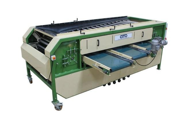 оборудование для калибровки по размеру овощей