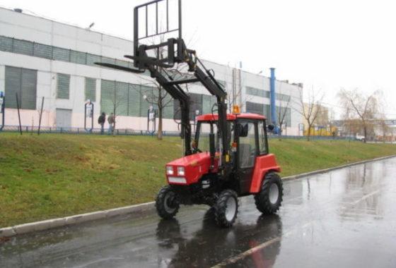 3 Оборудование погрузочное ОП-300 на тракторе МТЗ-320