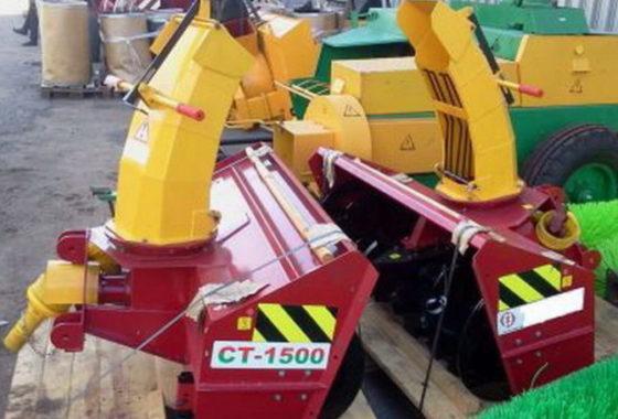 Снегоочиститель тракторный СТ-1500 к МТЗ-320