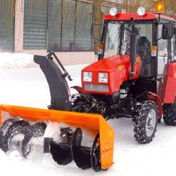 2 Снегоочиститель тракторный СТ-1500