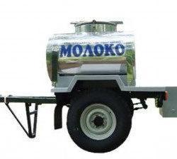 Прицеп-молоковоз автомобильный ПГ-8287 на шасси УАЗ