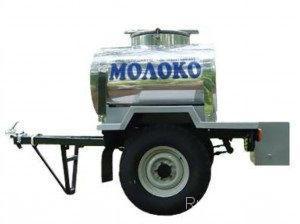 Прицеп-молоковоз автомобильный ПГ-8287 на шасси УАЗ - Изображение1
