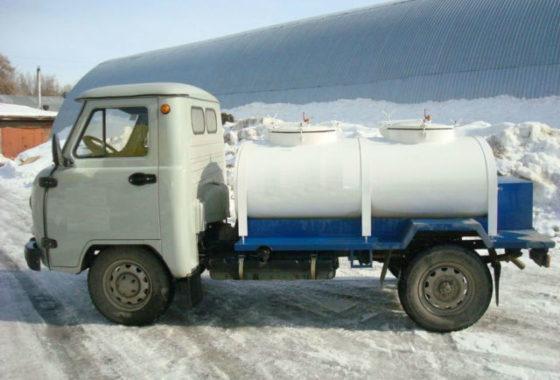 Молоковоз-цистерна с рефрижераторной установкой на шасси УАЗ 36221 - Изображение2