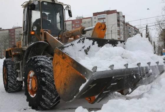 и вывоз снега в Курске 2