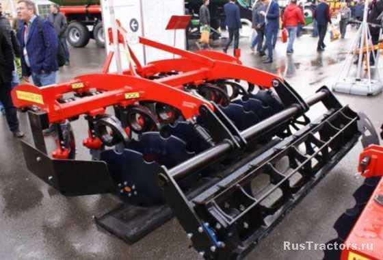 Борона дисковая БДМ-П БАРС трехрядная на пружинной стойке производства БДТ-АГРО
