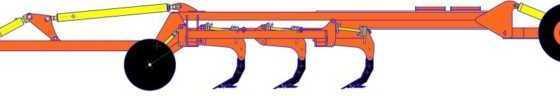 Культиватор стерневой тяжелый КСТ с пружинной защитой производства БДТ-АГРО