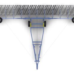 Сцепка  широкозахватная гидрофицированная
