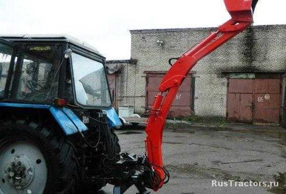 -экскаватор навесной МЭН-300 фото2