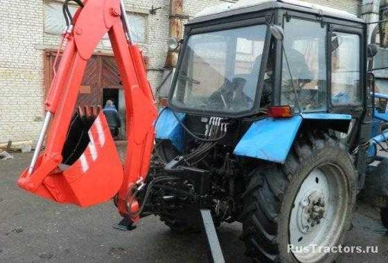 -экскаватор навесной МЭН-300 фото5