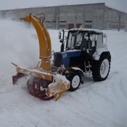 -роторный снегоочиститель ФРС-2.0ПМ на МТЗ-82