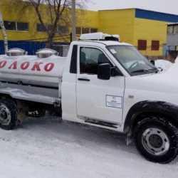 """УАЗ Профи """"Молоковоз"""" 1500 л. НЕРЖ"""