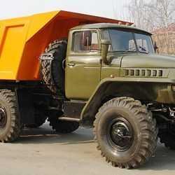 Аренда cамосвал Урал вездеход 10 м3.