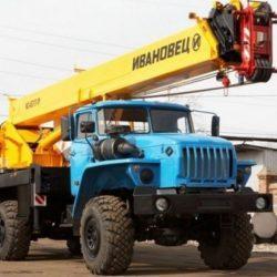 ивановец на базе Урал 25 тонн