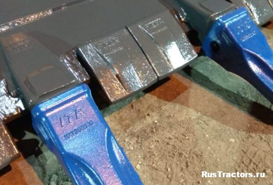 Ковш скальный усиленный (V-3m3) для фронтального погрузчика SDLG956L (5)