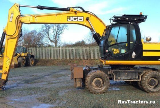 колесный экскаватор JCB JS160