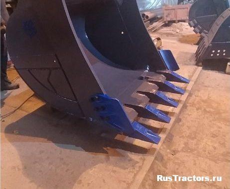 Ковш усиленный с бокорезами 1,8 м3 для САТ330 (1)